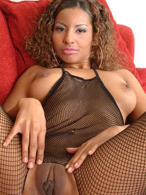 Nude Ebony Woman