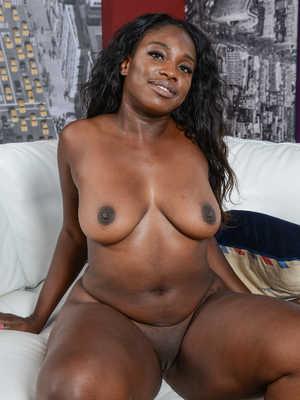 chubby black coed porn
